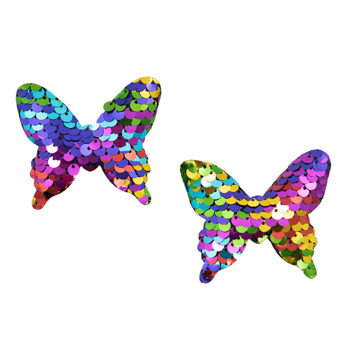 С3305-03 ДЕКОР ИЗ ПАЙЕТОК 'Бабочки'.