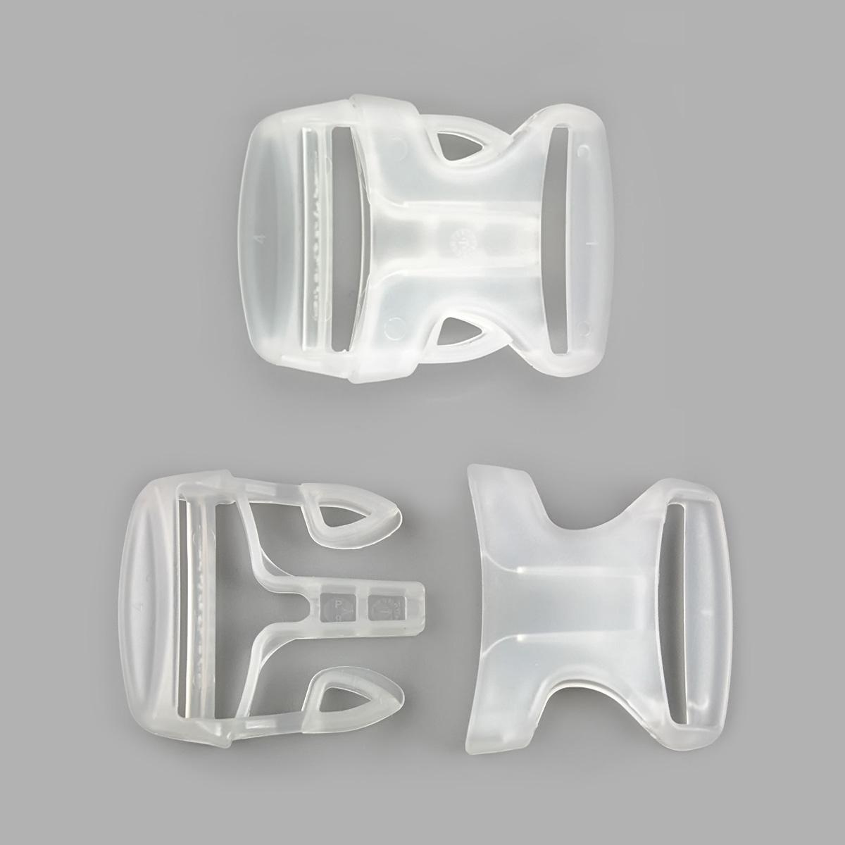 Ф-30/6 Фастекс 30мм, ПП, прозрачный, упак(1шт), Hobby&Pro