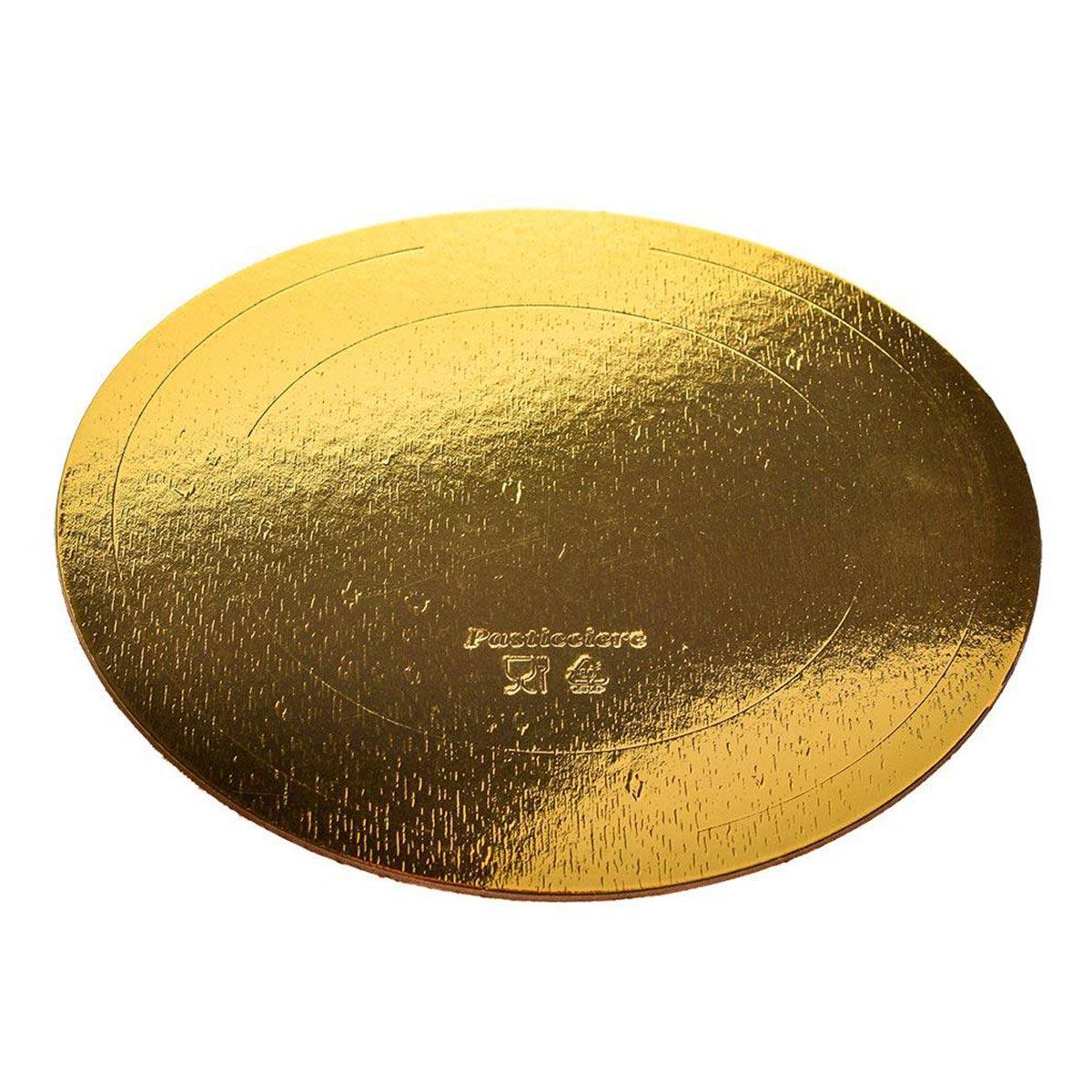 Подложка усиленная золото/жемчуг D260 мм (толщина 1,5мм)
