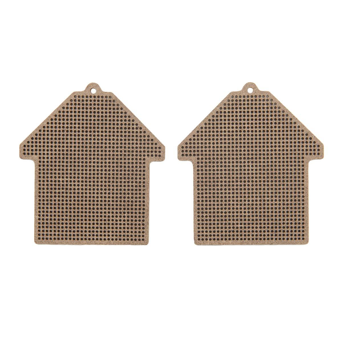 А017 2 Комплект основ для вышивания 'Домик'