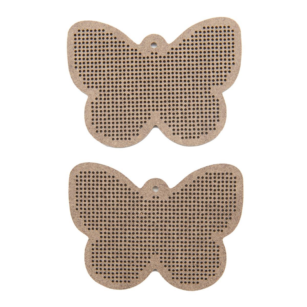 А027 2 Комплект основ для вышивания 'Бабочка'