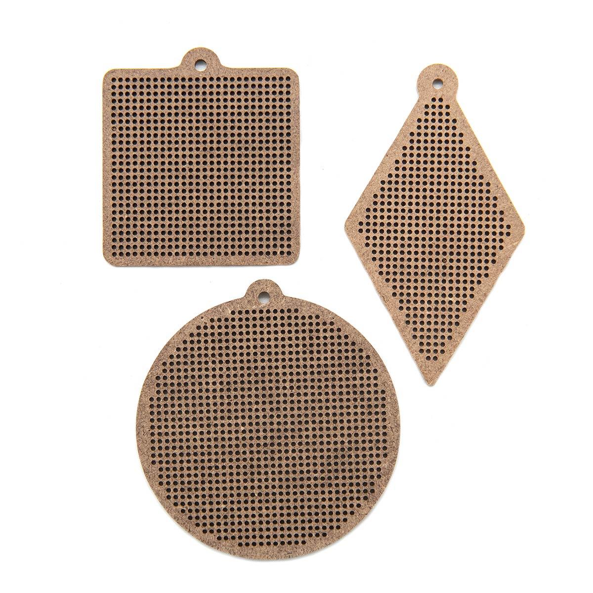 Н303248 Комплект основ для вышивания 'Геометрия' (круг