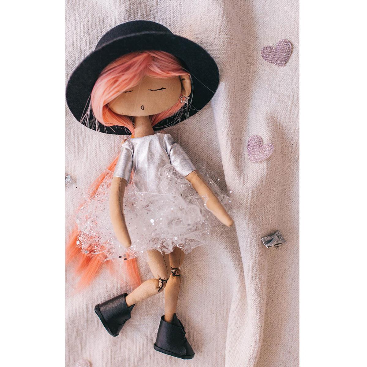 4936498 Интерьерная кукла 'Анжелика', набор для шитья 21*0,5*29,7 см