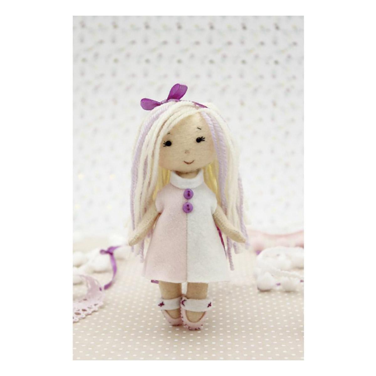 МА-3 Набор для создания куклы из фетра Серия 'Подружки' МАЛЫШКА МИЯ