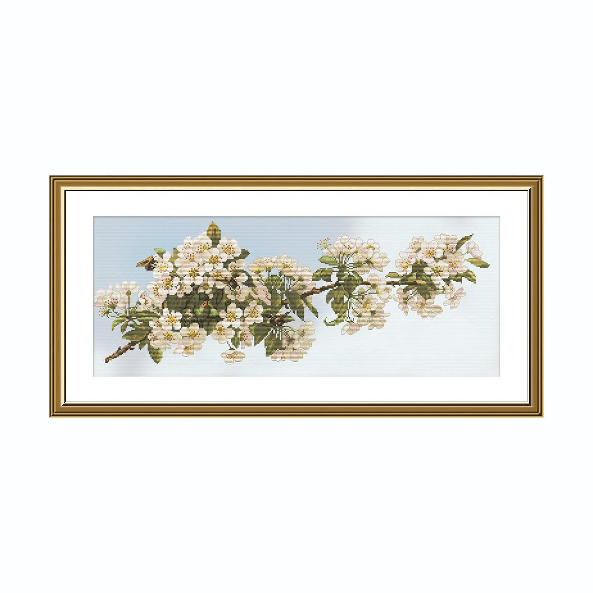СР1505 Набор для вышивания 'Весна в саду'50*20 см