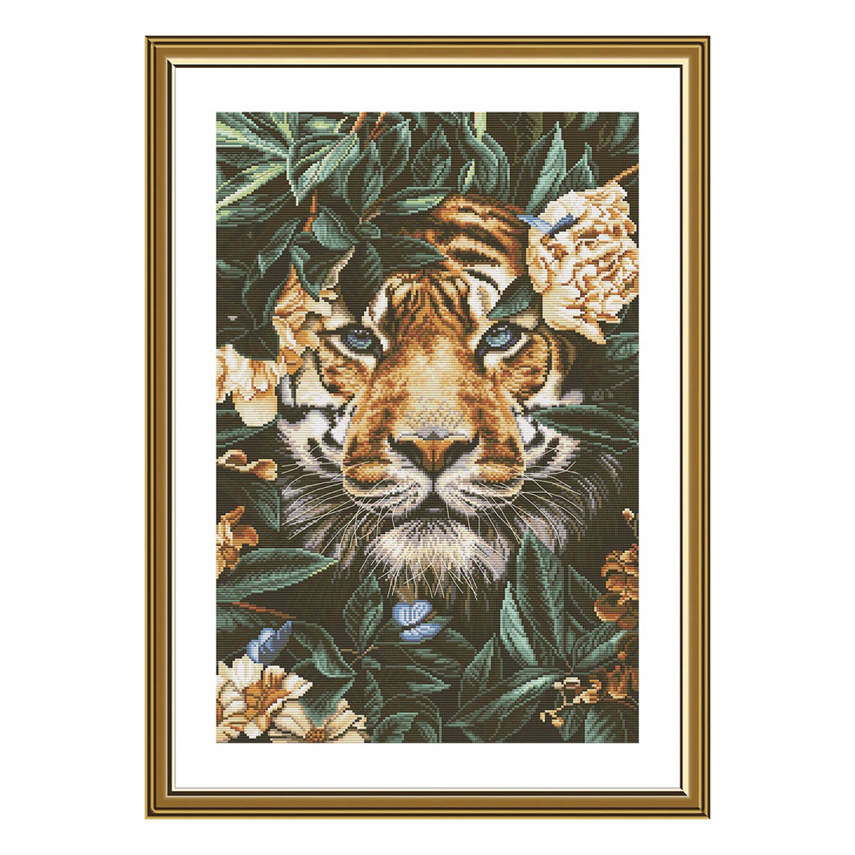 РЕ3513 Набор для вышивания 'Рай диких джунглей'28*42 см