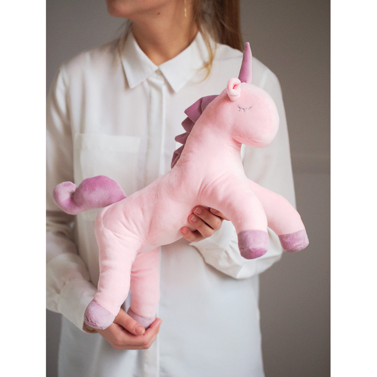 2885059 Мягкая игрушка 'Плюшевый единорог Юни', набор для шитья, 18.5*22.8*2.5 см