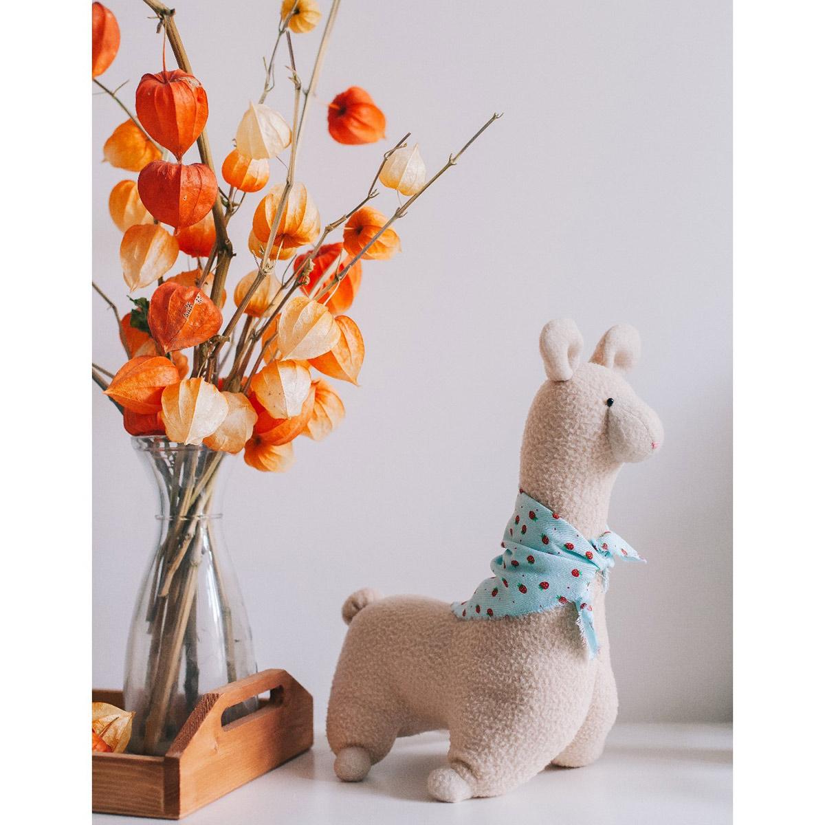 4519511 Мягкая игрушка 'Лама Пряня', набор для шитья 15,6*22,4*5,2 см