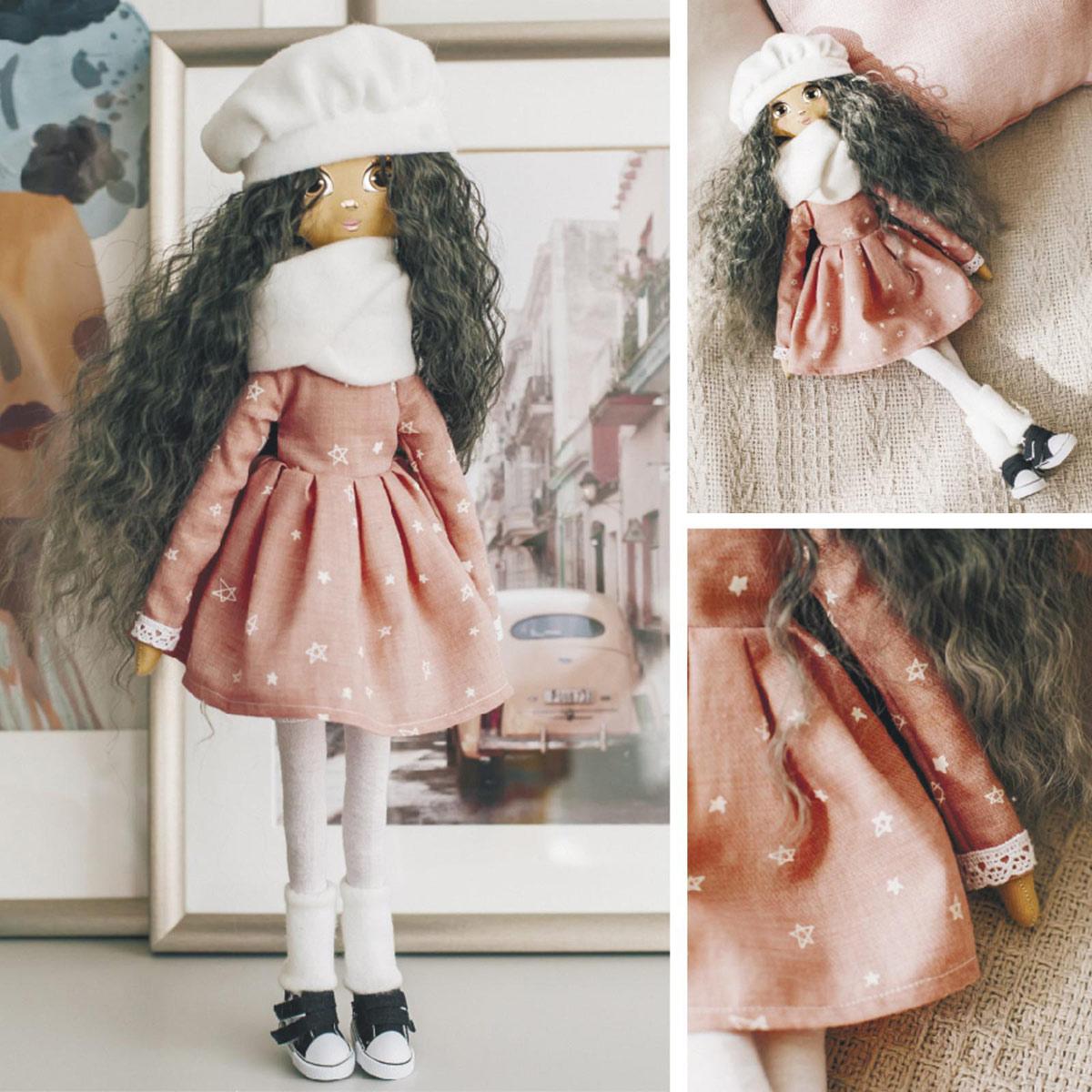 5376781 Интерьерная кукла 'Джемма', набор для шитья 21*0.5*29.7 см