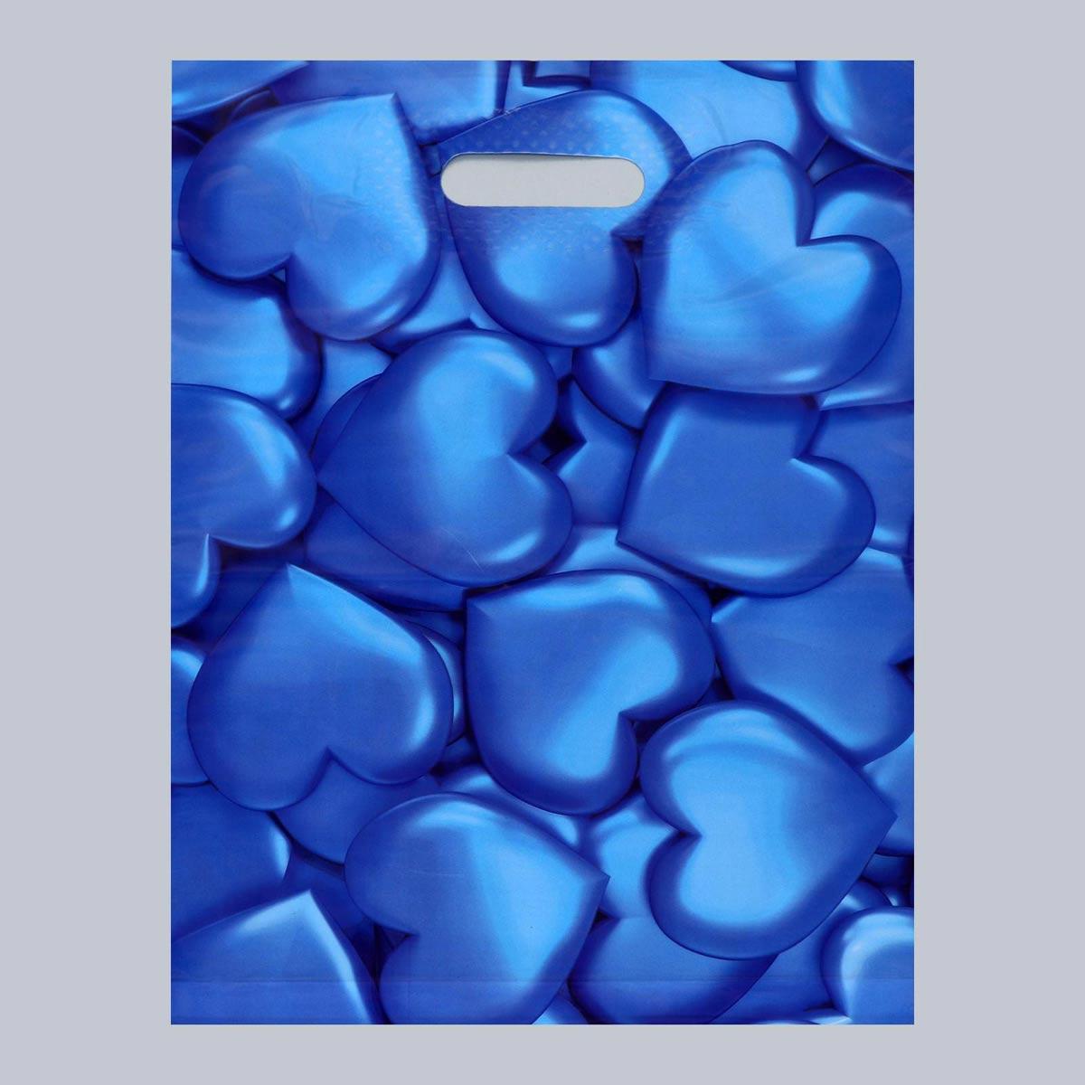 4668359 Пакет полиэтиленовый с вырубной усиленной ручкой 31*40 см, 60 мкм 20