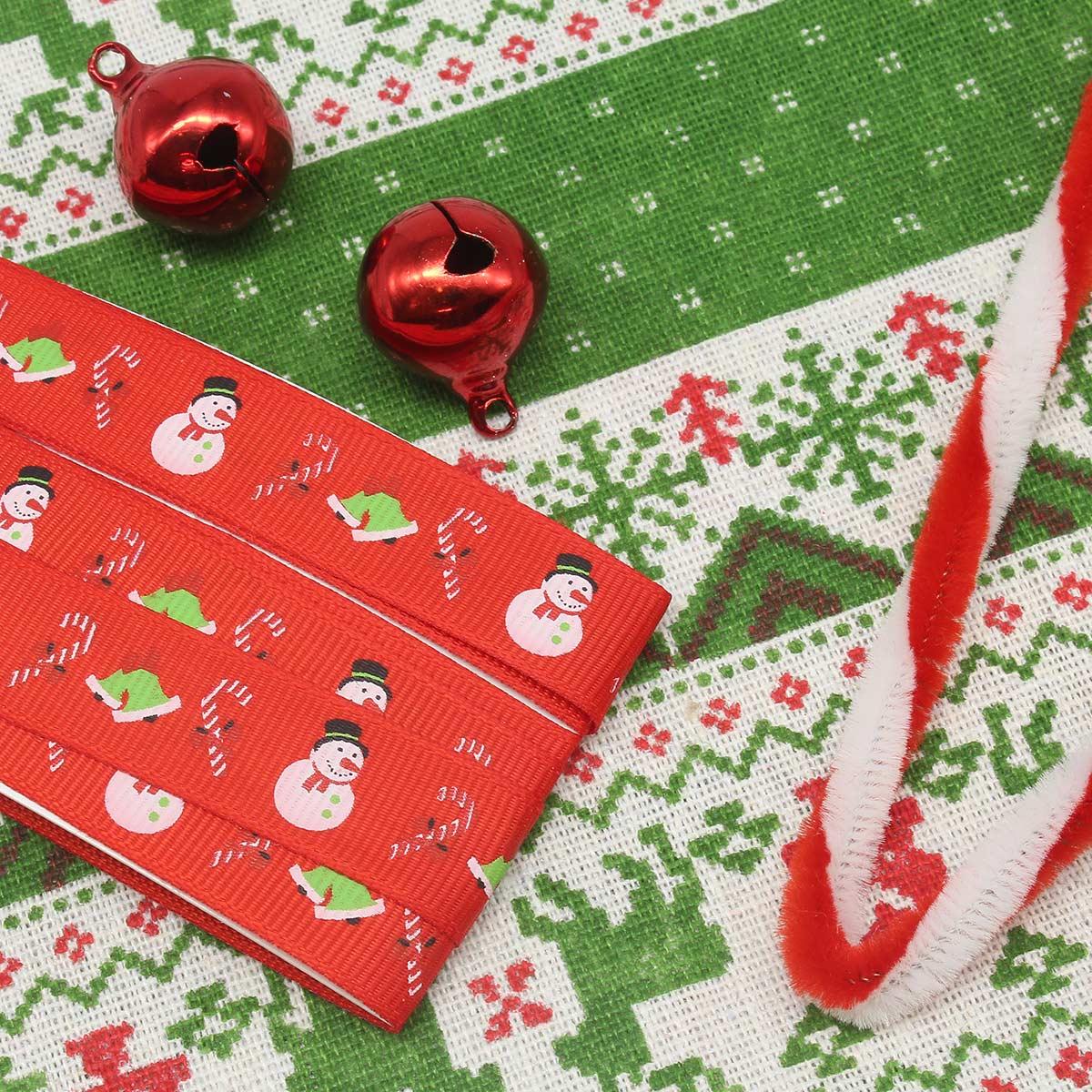 29477 Набор 'Новогодний', ткань для рукоделия 50см*50см, + аксессуары
