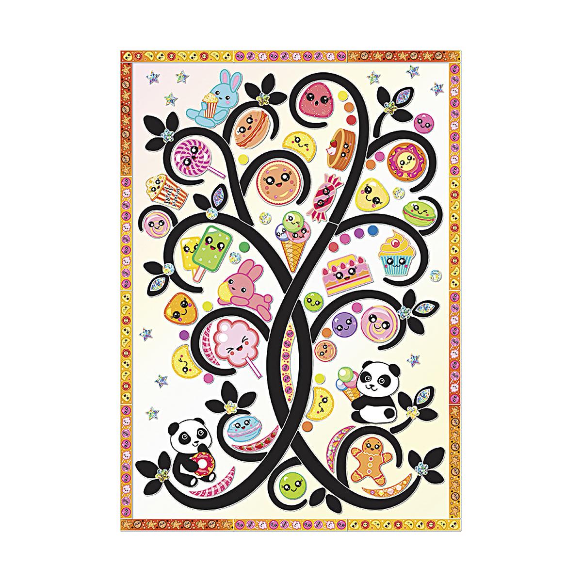 АС 43-325 Набор для изготовления картины 'Сладкое дерево' (декорирование) 210*297 мм Клевер