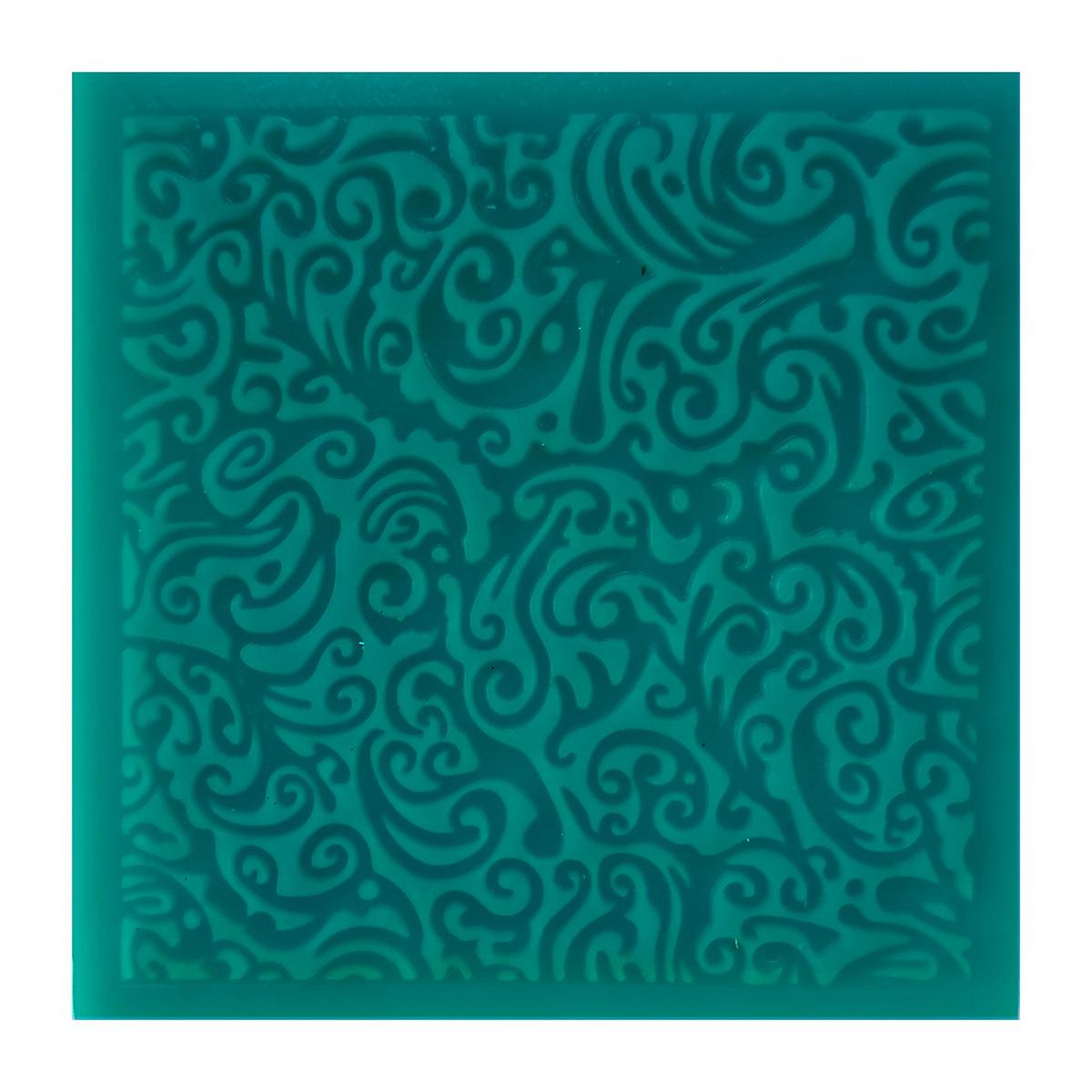 TL-0070 Текстурный лист 90*90*3мм, HappyClay