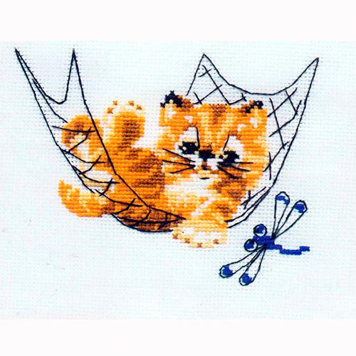НВ-058 (П-058) Набор для вышивания Riolis 'Тихий час', 16*13 см