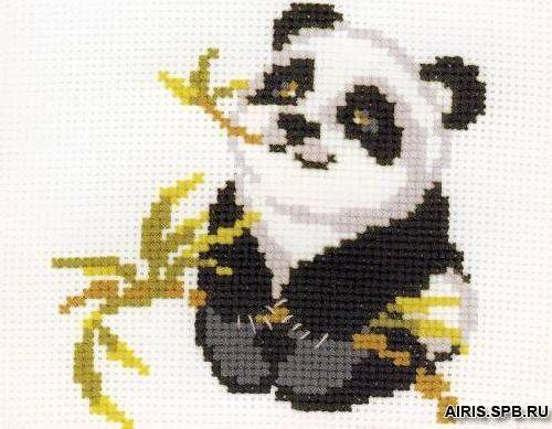 НВ-061 (П-061) Набор для вышивания Riolis 'Панда', 18*15 см