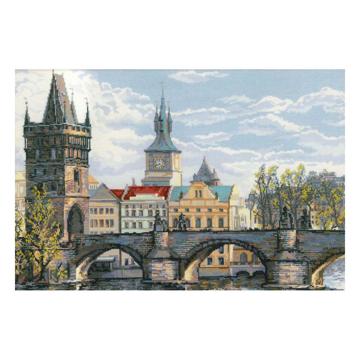1058 Набор для вышивания Riolis 'Прага. Карлов мост', 60*40 см