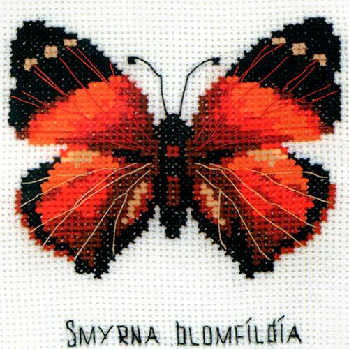НВ-094 Набор для вышивания Riolis 'Бабочка Нимфалида', 13*13 см