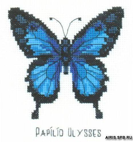 НВ-095 Набор для вышивания Riolis 'Парусник Улисс', 13*13 см