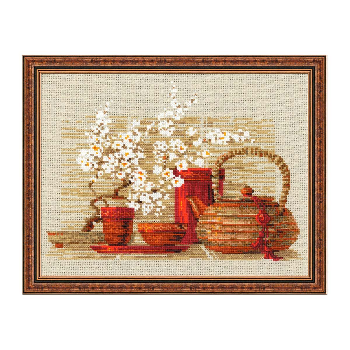 1122 Набор для вышивания Riolis 'Чай', 30*24 см