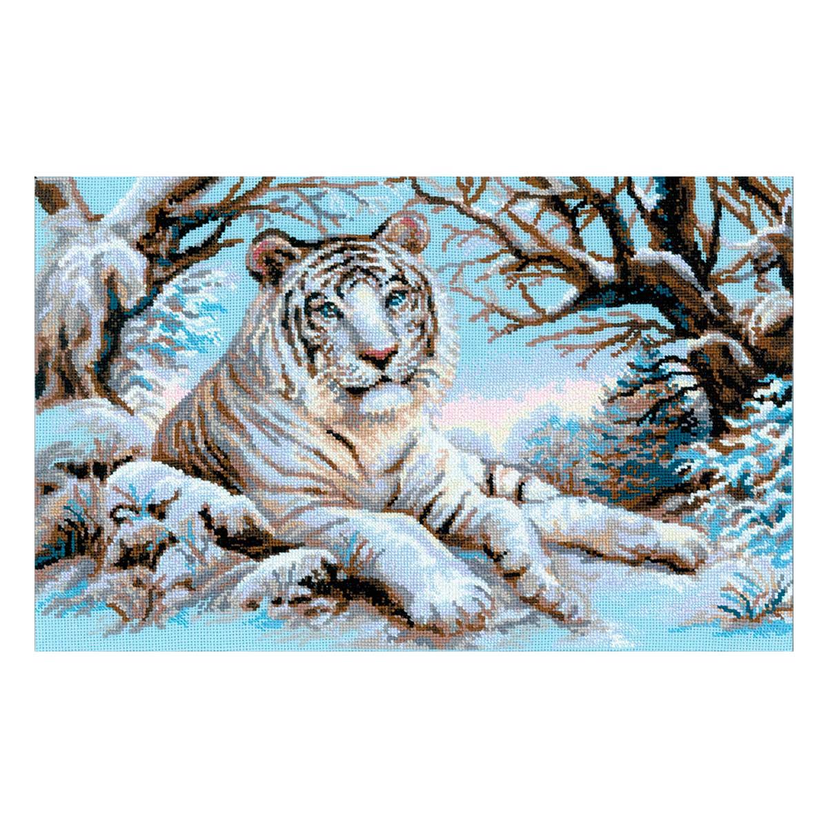 1184 Набор для вышивания Riolis 'Бенгальский тигр', 60*40 см