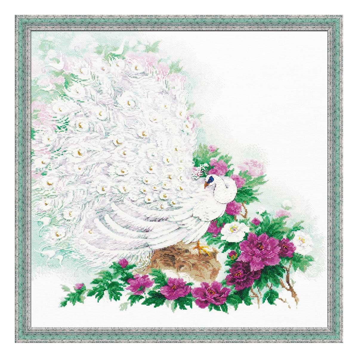 100/030 Набор для вышивания Riolis 'Сад Махараджи', 50*50 см