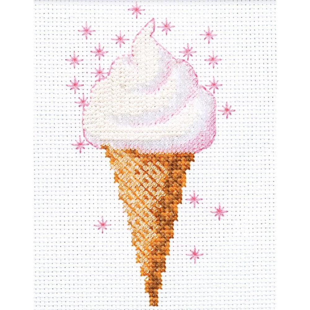 1317 Набор для вышивания Riolis 'Мороженое', 13*16 см