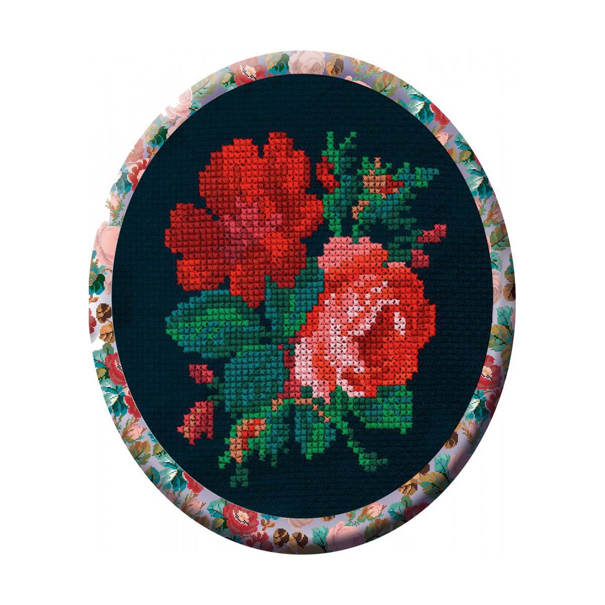 С017Н Набор для вышивания 'РС-Студия' 'Розы', 10*12 см фото