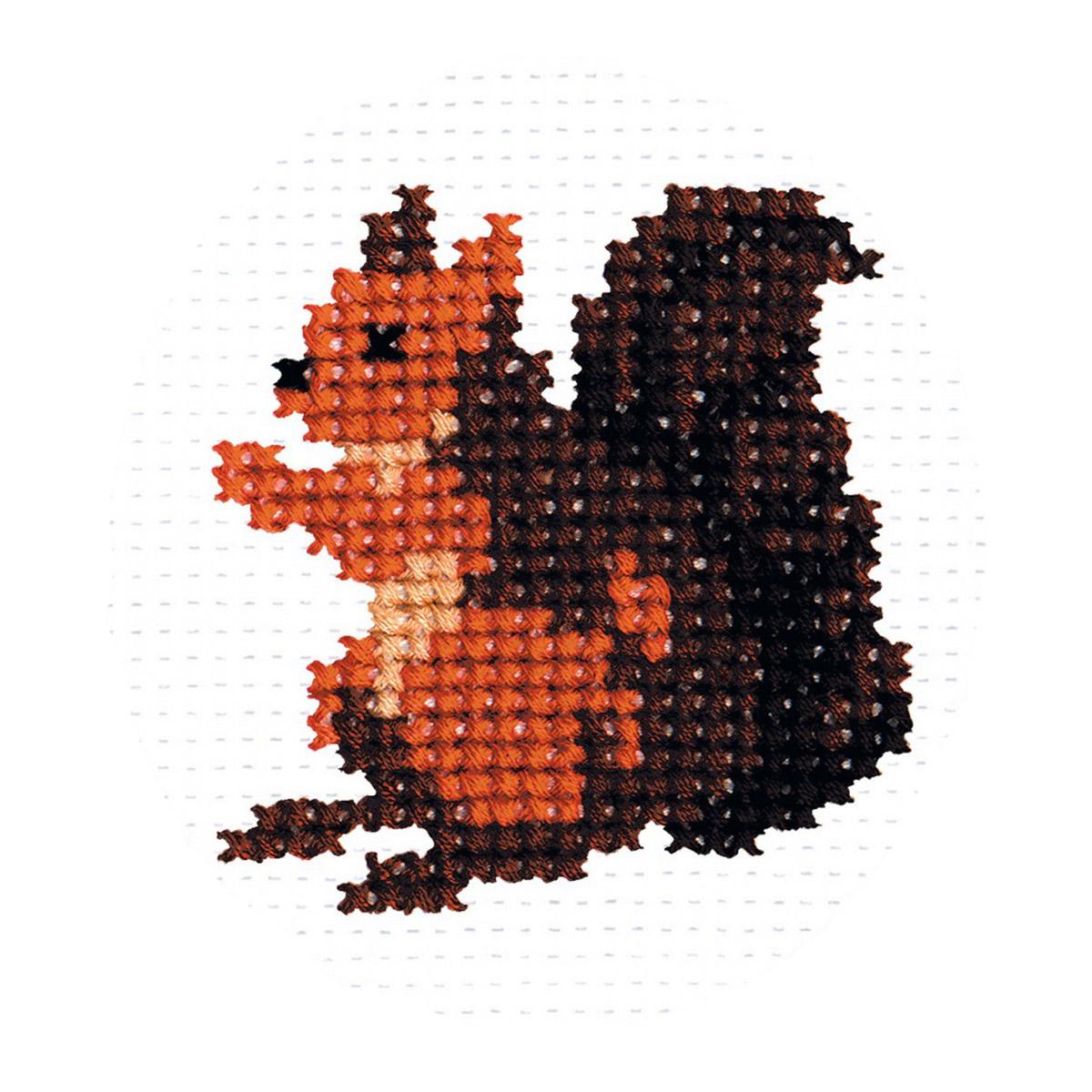 501 Набор для вышивания 'РС-Студия' 'Белочка', 7*6 см
