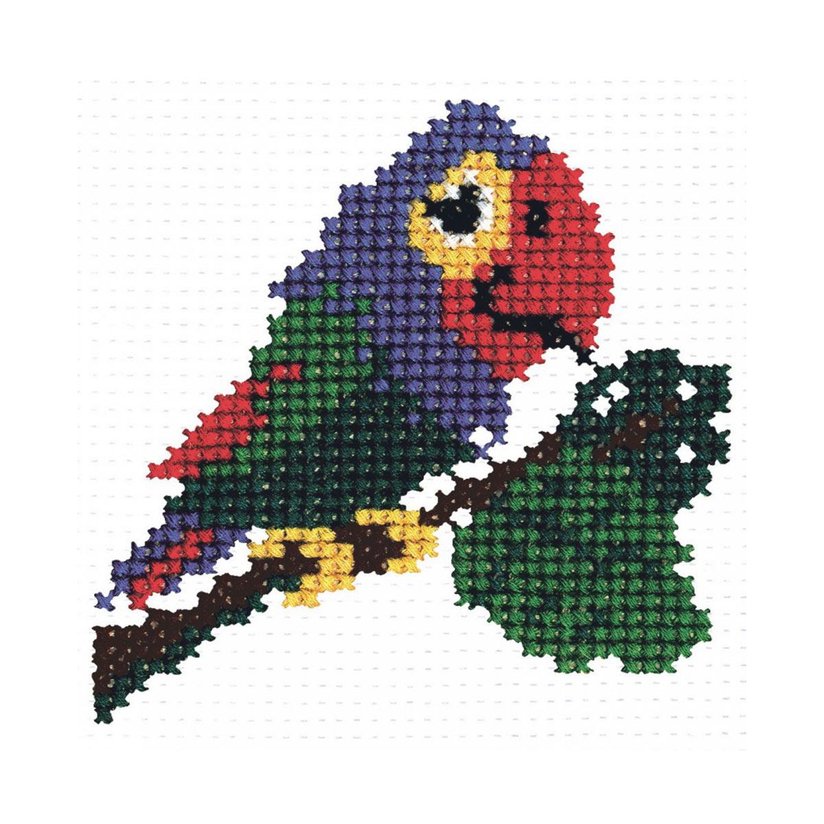 505 Набор для вышивания 'РС-Студия' 'Попугай', 11*11 см