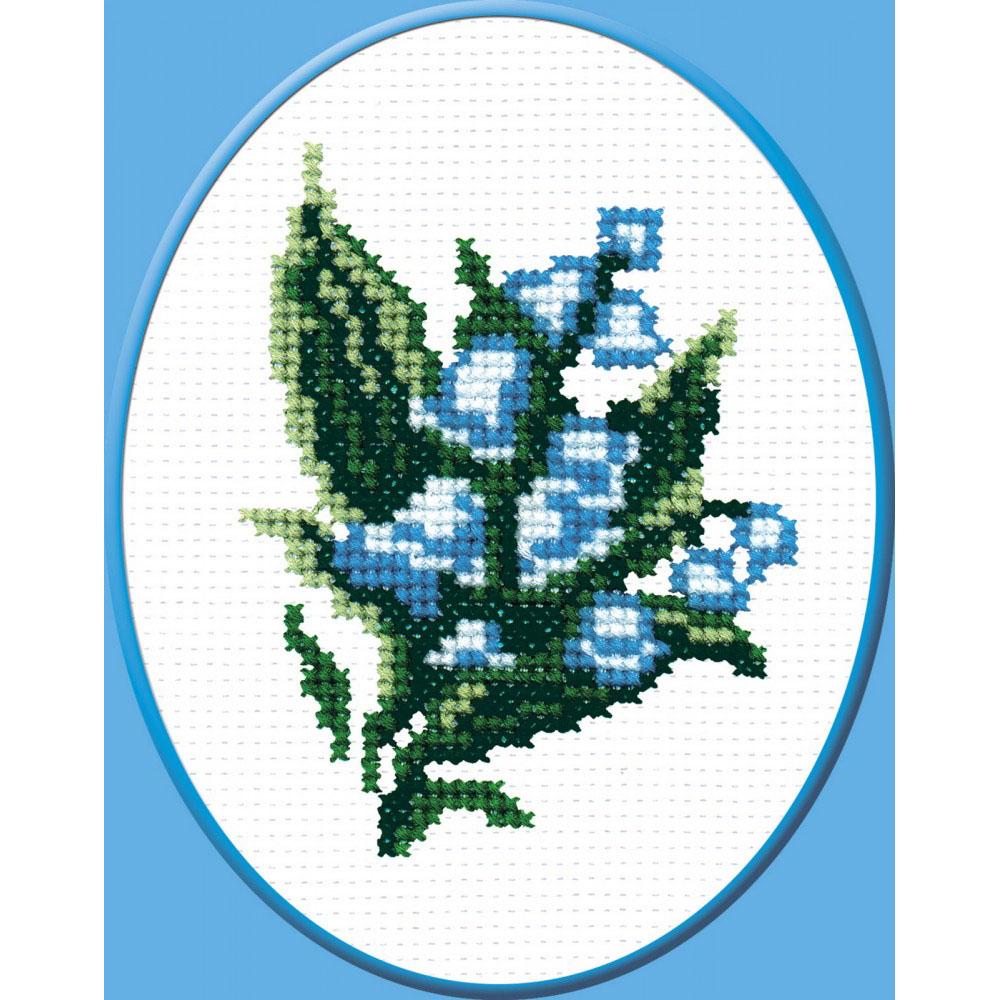 127 Набор для вышивания 'РС-Студия' 'Ландыш', 9*7 см