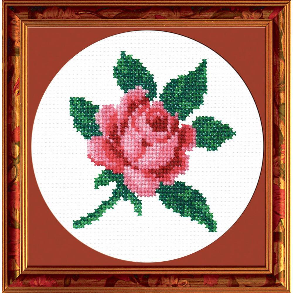 103Н Набор для вышивания 'РС-Студия' 'Роза', 11,5*11,5 см