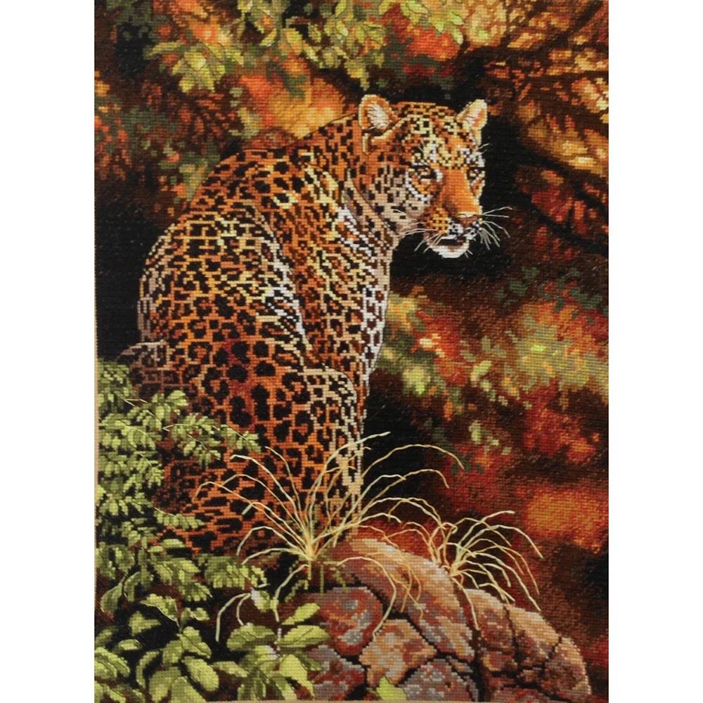 35209-DMS Набор для вышивания Dimensions 'Леопард', 30х41 см