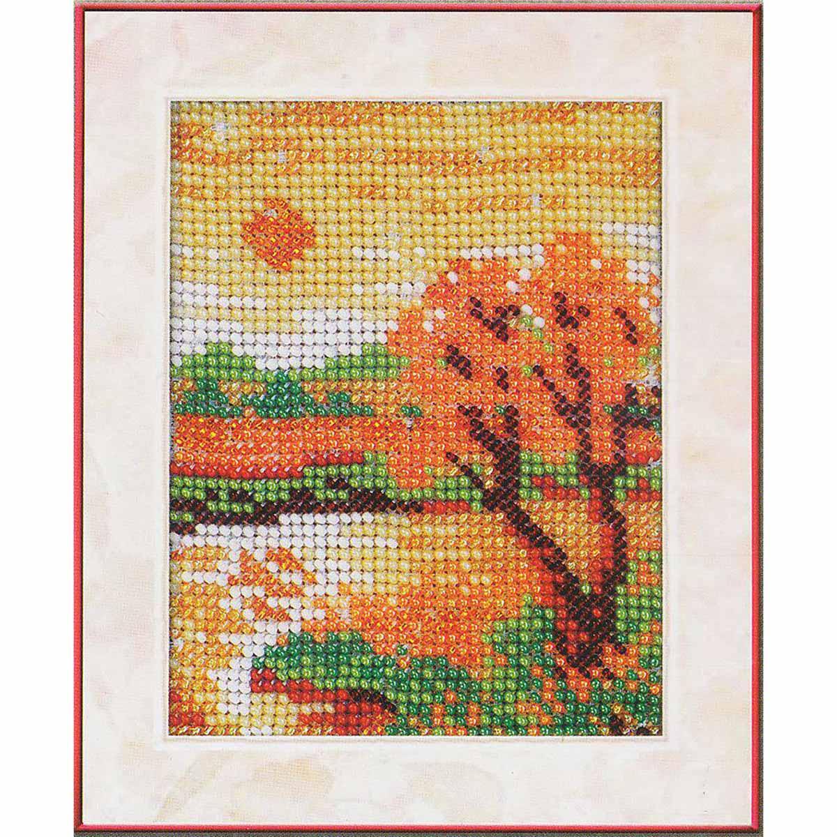 В017 Набор для вышивания бисером 'Осенний вечер'