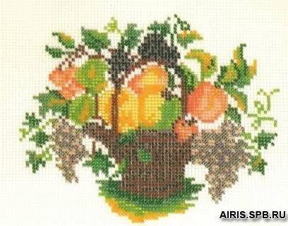 В076 Набор для вышивания бисером 'Кроше 'Романтика', 21x24 см