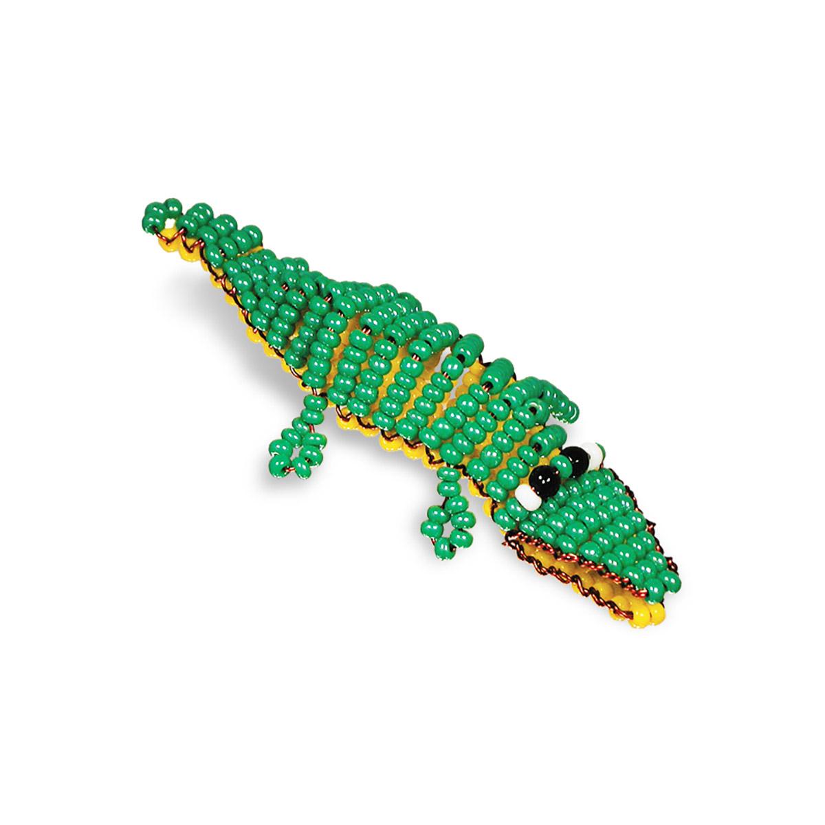 А029 Набор для бисероплетения 'Крокодил'