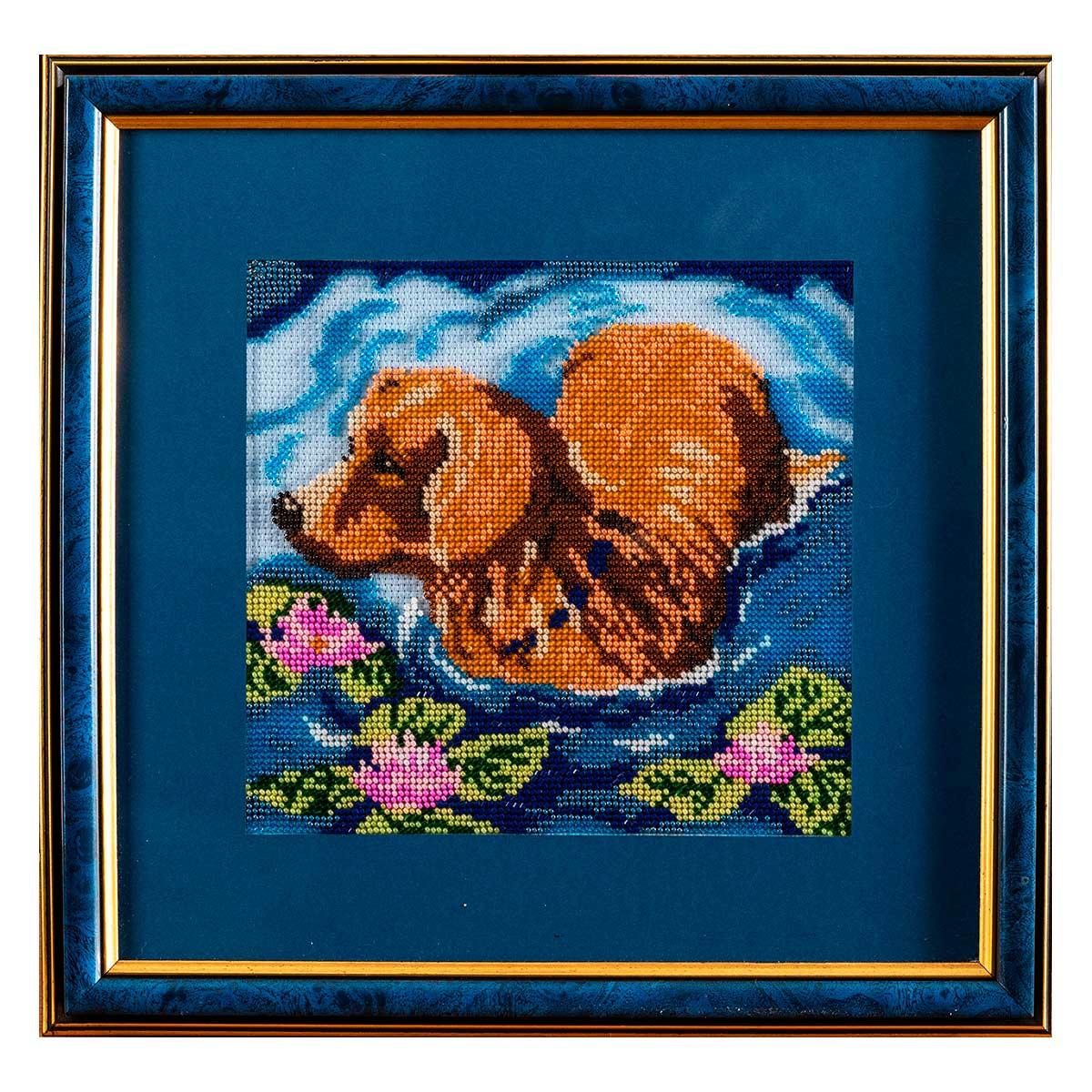 В110 Набор для вышивания бисером 'Голубая прохлада'