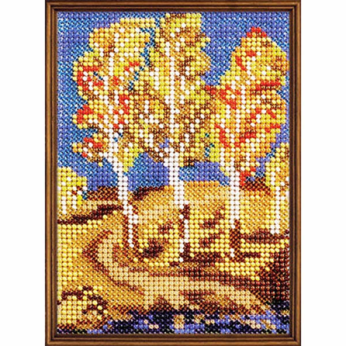 В112 Набор для вышивания бисером 'Осенняя свежесть'