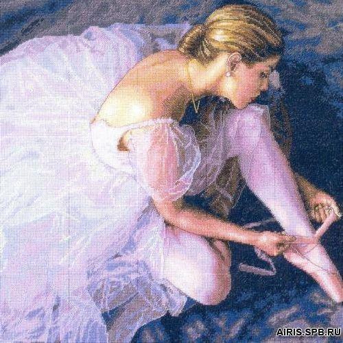 35181-DMS Набор для вышивания Dimensions 'Прекрасная балерина', 36х36 см