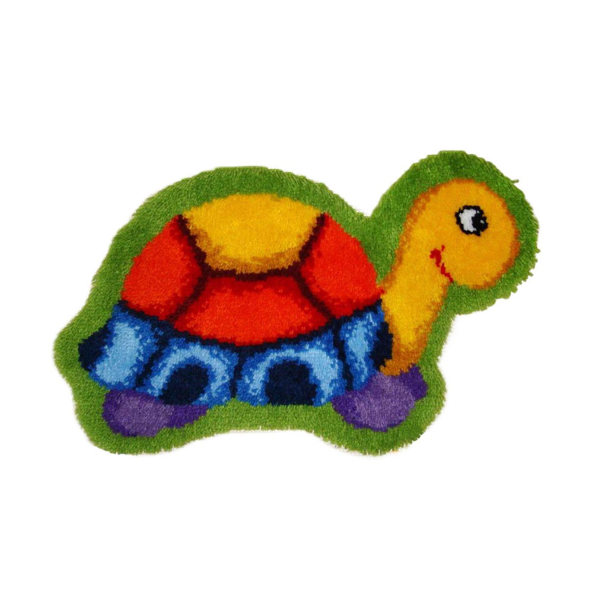 0014352-PN Коврик (ковровая техника) Vervaco 'Черепашка' 70x45 см