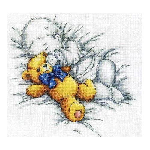 М158 Набор для вышивания RTO 'Спокойной ночи', 20х18 см
