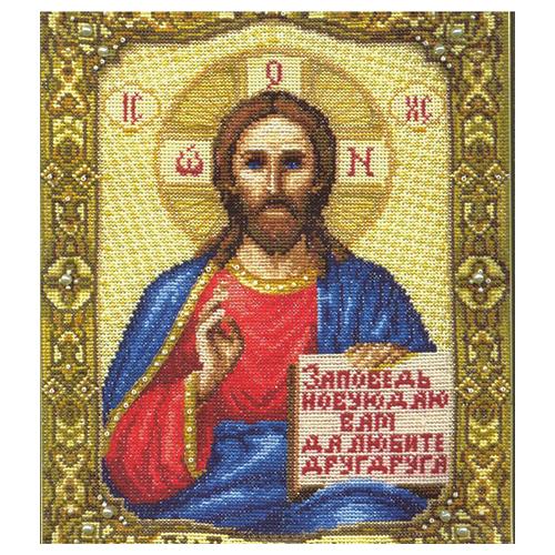 254 Набор для вышивания 'Чарівна Мить' 'Икона Господа Иисуса Христа', 21*26,5 см