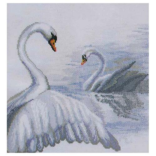 294 Набор для вышивания 'Чарівна Мить' 'Лебеди', 27*29 см
