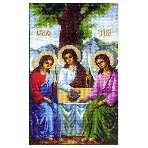 344 Набор для вышивания 'Чарівна Мить' 'Икона Пресвятой Троицы', 26*37,5 см