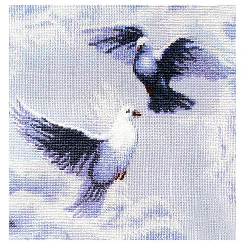 302 Набор для вышивания 'Чарівна Мить' 'Голуби', 38*39 см