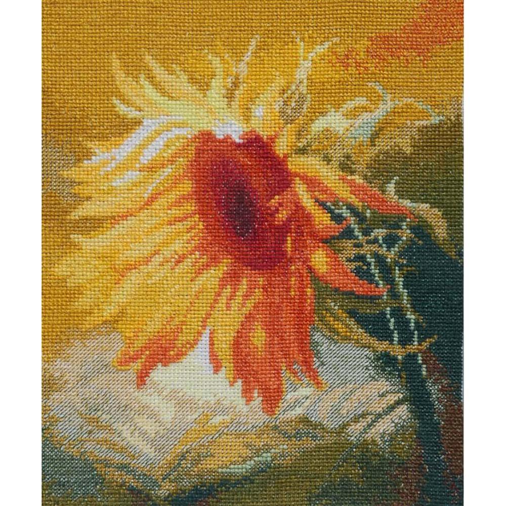 408 Набор для вышивания 'Чарівна Мить' 'Подсолнух', 17,5*22 см
