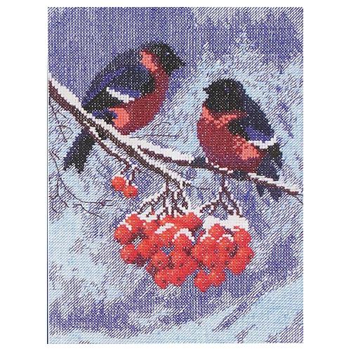 283 Набор для вышивания 'Чарівна Мить' 'Снегири', 15*21,5 см
