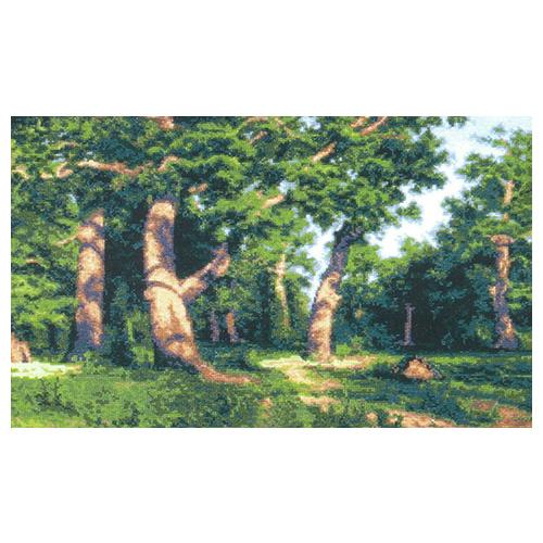348 Набор для вышивания 'Чарівна Мить' По мотивам И.Шишкина 'Сосновый бор', 53*31,5 см