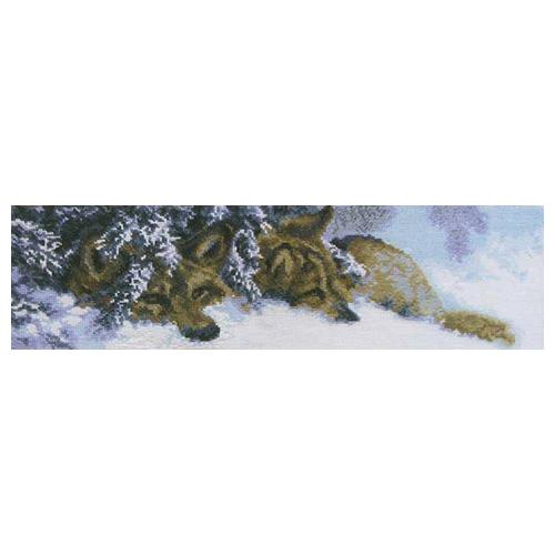 436 Набор для вышивания 'Чарівна Мить' 'Волки', 45*14 см