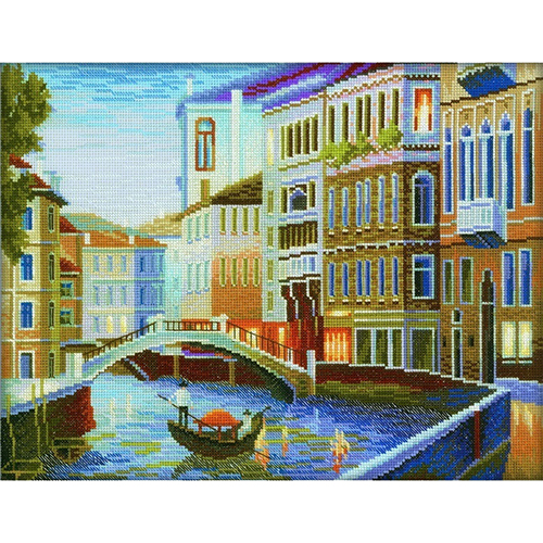 М199 Набор для вышивания RTO 'Вечер в Венеции', 35х27 см