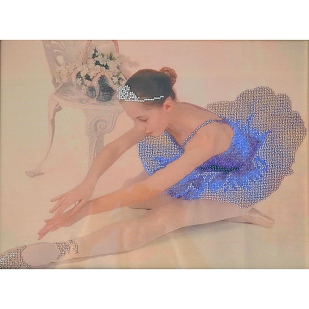 Б-532 Набор для вышивания бисером 'Чарівна Мить' 'Балерина', 29*38,5 см